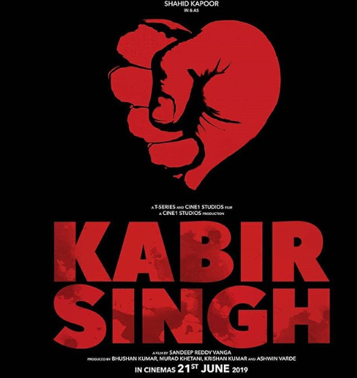 shahid kapoor look in kabir singh is leaked