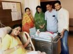 First Look Ritiesh Deshmukh Genelia New Born Baby