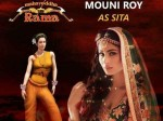 Nagin Actress Mouni Roy Dubs The Role Sita An Animation Film