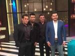 Salman Arbaz Sohail Shoot For Koffee With Karan See Pics