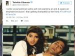 Twinkle Khanna Reacts Being Trolled Salman Khan Fans