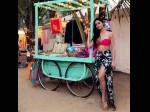 Dahleez Actress Tridha Choudhury Sizzles Her Bikini Avatar See Pics