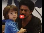 Shahrukh Khan Abram Cute Conversation Wll Make Your Day