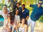 Hrithik Roshan Sussanne Khan Spent Sunday With Akshay Kumar Twinkle Khanna
