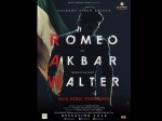 Check The First Look Posters Romeo Akbar Walter
