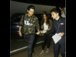 Varun Dhawan Depart For Holiday With Rumored Girlfriend Natasha Dalal