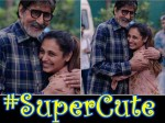 Amitabh Bachchan Wishes Ranu Mukerjee The Best On Hichki Sets