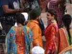 Shahrukh Khan Anushka Sharma Leaked Pics From Imtiaz Ali Next