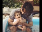 Shahid Kapoor Enjoying With Daughter Misha In Pool Shares Pic