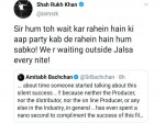 Amitabh Bachchan Complains No One Is Talking About Badla Shahrukh Replies