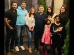 Aishwarya Rai Abhishek Bachchan Meet Rishi Kapoor In New York See Pics