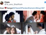 Years Of Pardes Twitter Celebrates Shahrukh Khan And Mahima Chaudhary Innocence