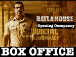 Batla House Box Office Opening Day 1 Thursday Occupancy