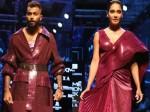 Lakme Fashion Week Lisa Haydon And Hardik Pandya Ramp Walk