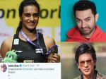 Bollywood Celebs Congrats Pv Sindhu For Winning The Gold Medal