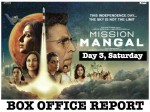 Mission Mangal Box Office Day 3 Saturday Box Office Collection