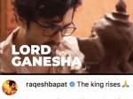 Actor Raqesh Bapat Sculpts His Own Ganpati To Celebrate Ganesh Chaturthi 2019 See Pics