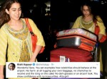 Rishi Kapoor Hails Sara Ali Khan For Carrying Her Own Luggage At The Airport