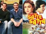 When Salman Khan Almost Did Satte Pe Satta Remake Before Shahrukh Hrithik