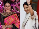 Taapsee Pannu Reveals She Would Love To Do A Biopic On Sushma Swaraj