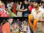 Ganpati Flashback In Pics When Bollywood Stars Celebrated Ganesh Chaturthi With Utmost Zeal