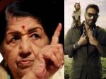 'मुंगड़ा' से नाराज लता मंगेशकर से अजय देवगन ने कहा- आप चाहें तो तमाचा मार सकती है