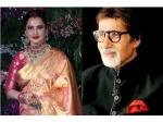 देखिए क्या हुआ जब लाइव शो में रेखा के सामने आए अमिताभ बच्चन, Video हो गया लीक
