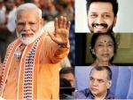 लोकसभा चुनाव 2019 नतीजा- इन बॉलीवुड सितारों ने दी प्रधानमंत्री नरेन्द्र मोदी को बधाई