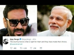 'देश को पता है उसके लिए क्या सही है'- पीएम मोदी की जीत पर अजय देवगन का Tweet