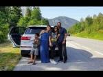 फैमिली के साथ रोड ट्रिप पर निकले अजय देवगन और काजोल- शानदार फोटो हुई वायरल