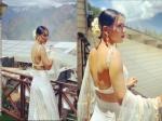 बैकलेस ब्लाउज में टीवी की सेक्सी सुपरस्टार निया शर्मा का दिखा बोल्ड लुक, होश उड़ जायेंगे