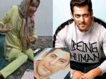 दिव्यांग ईरानी फैन ने पैरों से बनाया सलमान खान का स्केच- खुद भाईजान ने शेयर किया Video