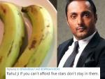राहुल बोस ने 5 सितारा होटल में मंगवाए 2 केले- बिल देखकर रह गए दंग- ट्विटर पर मिले ऐसे कमेंट्स