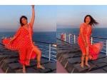 क्रूज पर पोज दे रही थीं शिल्पा शेट्टी, तभी उड़ गई ड्रेस, खुद शेयर किया ये Video