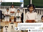 तापसी पन्नू ने शेयर की #WhyTheGap स्कूल की तस्वीर, अनुराग कश्यप - विकी कौशल ने उड़ाई खिल्ली