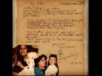 Pic of The Day: अर्जुन ने कपूर ने 12 साल की उम्र में लिखा थी मम्मी को चिट्ठी