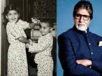 अमिताभ बच्चन ने शेयर की अभिषेक और श्वेता की बचपन की तस्वीर- हो रही है वायरल