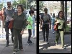 ऋतिक रोशन के परिवार पर टॉर्चर का आरोप लगाने के बाद घर लौटीं बहन सुनैना रोशन, देखिए तस्वीरें