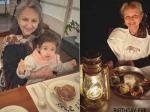 75 की हुईं शर्मिला टैगोर : इनाया - तैमूर के साथ मना बड़ी अम्मा का जन्मदिन