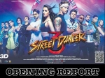 स्ट्रीट डांसर 3d बॉक्स ऑफिस - 1st day, 1st show के बाद जानिए कैसी रही फिल्म की शुरूआत