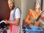 कैटरीना कैफ के बाद रितेश देशमुख ने धोए बर्तन, नहीं किया काम तो जेनेलिया डिसूजा का बेलन तैयार, वीडियो