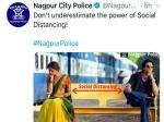 सोशल डिस्टेंसिंग: शाहरुख खान की 'चेन्नई एक्सप्रेस' की धूम, मीम और डायलॉग नागपुर पुलिस ने किया शेयर