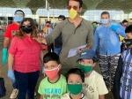सोनू सूद ने 170 प्रवासी मजदूरों को फ्लाइट से भेजा देहरादून, खुद पहुंचे मुंबई एयरपोर्ट- तस्वीरें
