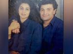 ऋषि कपूर और नीतू कपूर की OLD तस्वीर: पति की बाहों और मैचिंग शर्ट में जबरदस्त फोटोशूट-VIRAL