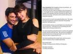 रिया चक्रवर्ती ने तोड़ी चुप्पी, सुशांत संग अपने प्यार को किया जाहिर