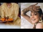 काजल अग्रवाल के हाथों में सजी गौतम किचलू के नाम की मेहंदी, खूबसूरत तस्वीरें- कल है शादी