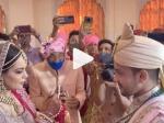 आदित्य नारायण डाल रहे थे वरमाला, तभी अमिताभ बच्चन की हुई एंट्री? शादी का वीडियो वायरल