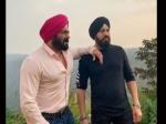 'अंतिम' से सलमान खान ने बॉडीगार्ड शेरा के साथ शेयर की फोटो, बताया 'वफादार' PIC