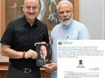 आखिर प्रधानमंत्री नरेंद्र मोदी ने क्यों लिखी अनुपम खेर को चिट्ठी? ये है बड़ी वजह