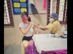 राधिका मदान ने लिया कोविड वैक्सीन का पहला डोज, लोगों से की वैक्सीन रजिस्ट्रेशन करवाने की अपील
